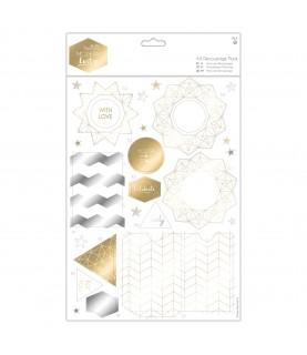 Comprar Pack 2 hojas con etiquetas troqueladas Modern Lustre