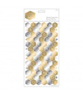 Comprar Alfabeto de cartón auto adhesivo modern Lustre