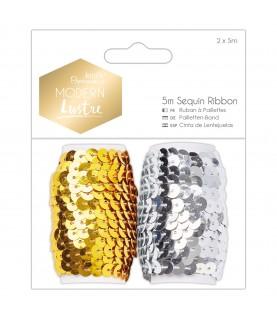 Comprar 2 Rollos de cinta de lentejuelas mod Modern Lustre de Conideade