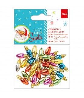 Comprar Pack 32 colgantes luces navidad mod Love Santa de Conideade