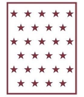 Comprar Plantilla stencil A5 Estrellas de Conideade