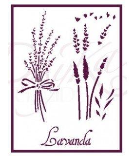 Comprar Plantilla stencil A5 Lavanda de Conideade