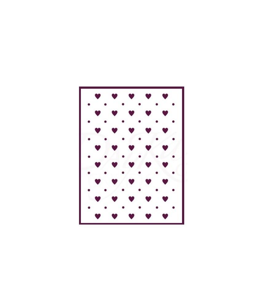 plantilla stencil DIN-A4 Mod corazones