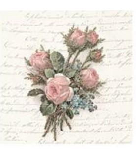 Imagén: Servilleta vintage Flower Bouquet 33cm x 33cm