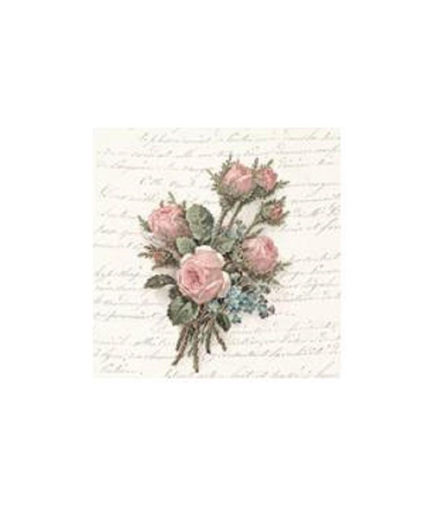 Servilleta vintage Flower Bouquet 33cm x 33cm