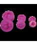 Molde Termoformado abejitas 3 tamaños