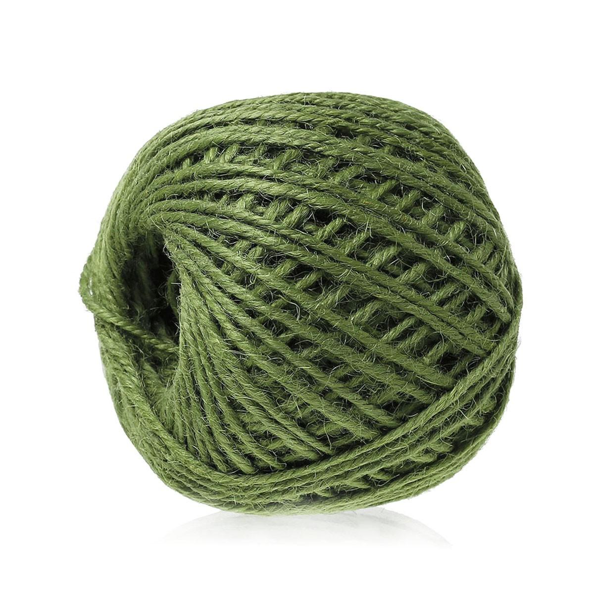 Rollo De 80 M Cordon De Yute Colores 2 Mm