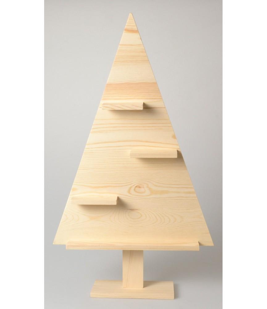 Arbol de madera de navidad repisas