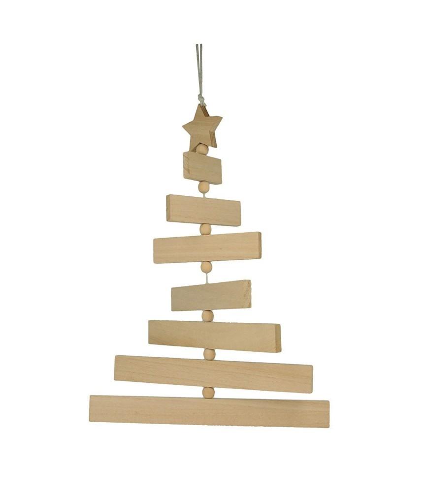 Arbol de madera de navidad movil