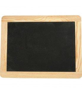 Pizarra de madera 19x 24 cm