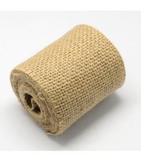 Comprar Rollo de 2,5m tela de Yute de 6,5 cm de Conideade