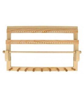 Expositor de bisuteria de madera