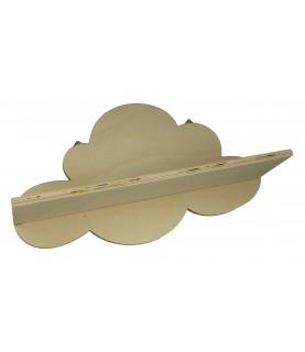 Estante de madera nube Adorable