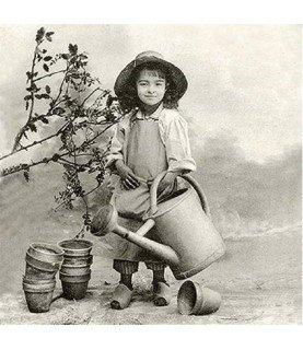 Comprar Servilleta vintage Garden Girl 33 x 33cm de Conideade