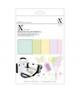 15 láminas de papel adhesivo de colores A5