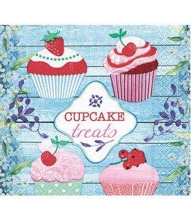 Comprar Servilleta cupcake treats 33x33 cm de Conideade