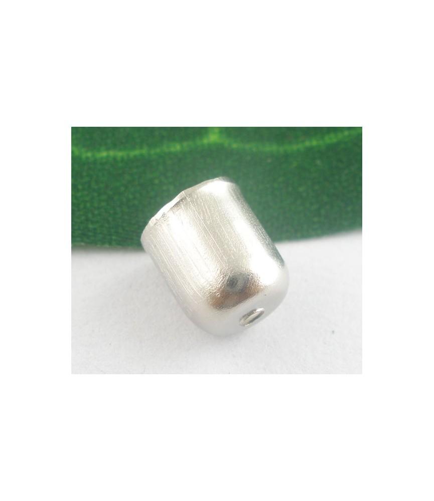 Pack de 10 terminal plata para cordones 6mm