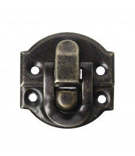 Cerradura maletin tono bronce