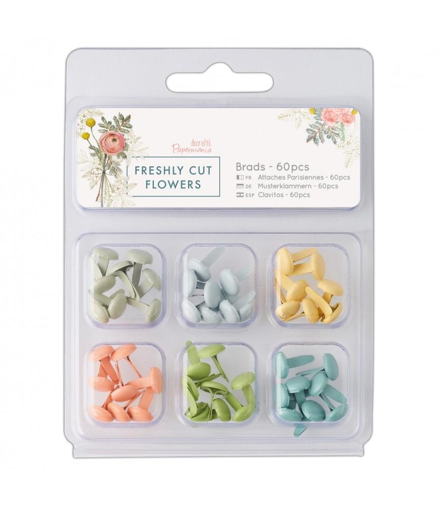 Pack 60 brads mod Freshly cut flowers