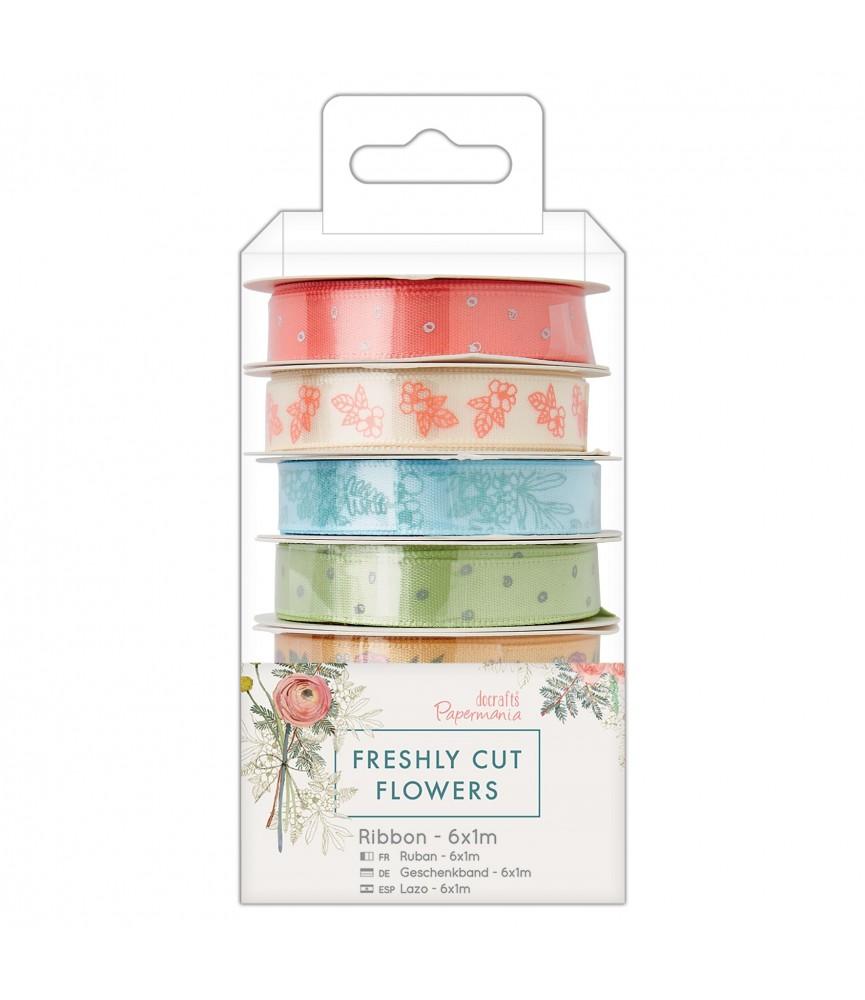 Pack 6 m cintas de Freshly cut flowers