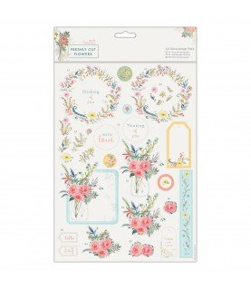 Comprar Pack A4 4 laminas de decoupage Freshly cut flowers de Conideade