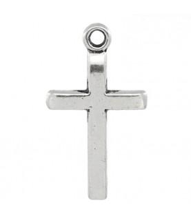 Colgante cruz plata de 2 cm