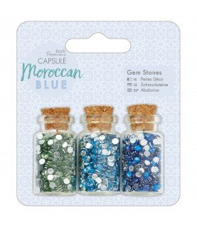 Pack de 3 botes de gemmas Moroccan Blue