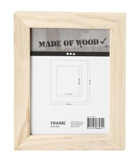 Comprar Marco de fotos de madera 16 x 21 cm de Conideade
