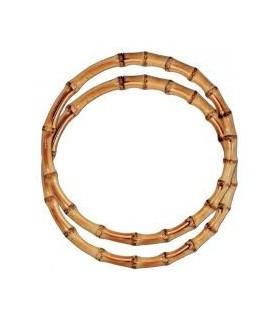 Comprar Par de asas redondas de bambú marrón de Conideade