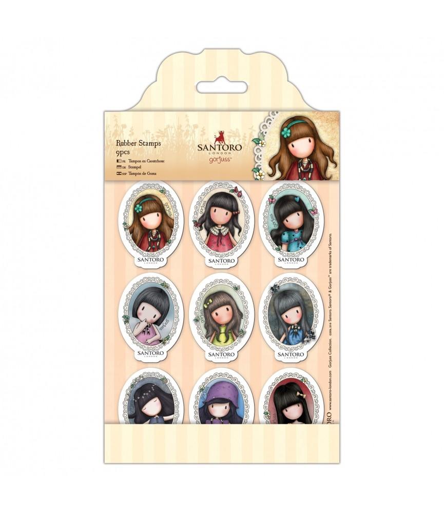 Pack 9 sellos diferentes de gorjuss