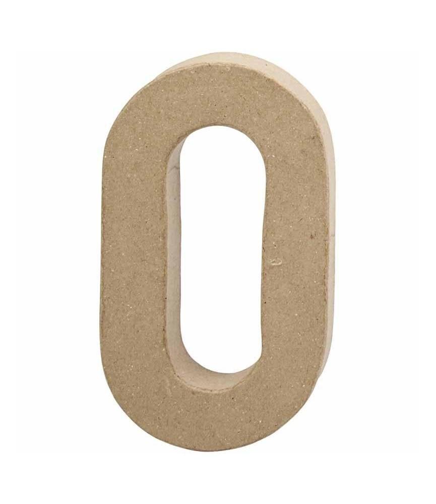 Numeros de cartón 10 cm
