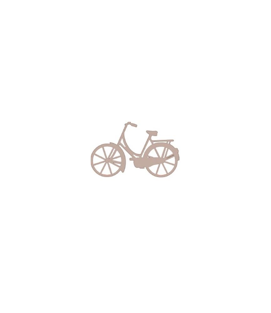 bicicleta de cartón grande