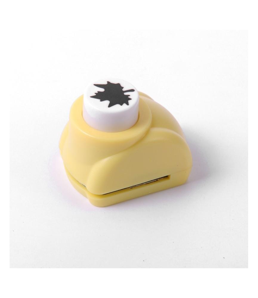 "Mini Perforadora de figura ""hoja"""