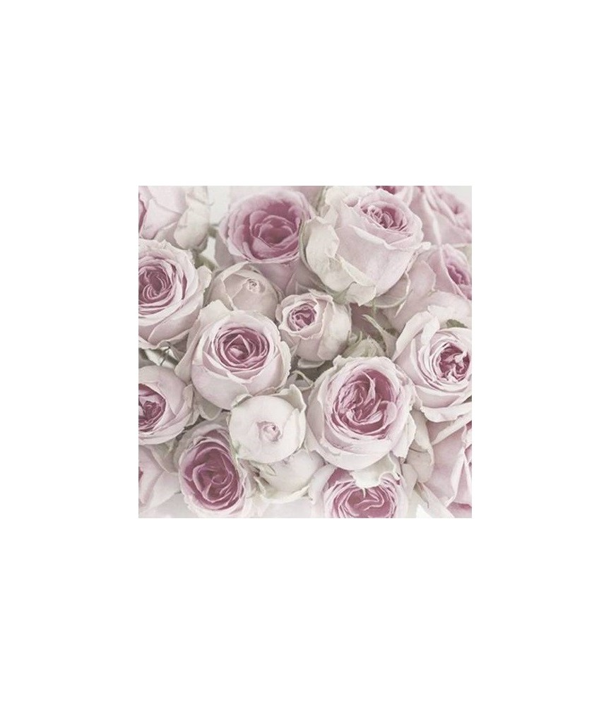 Servilleta vintage pinks roses 33 x 33cm