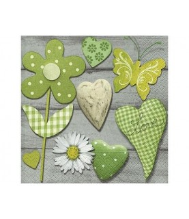 Comprar Servilleta Green selection 33x33 cm de Conideade