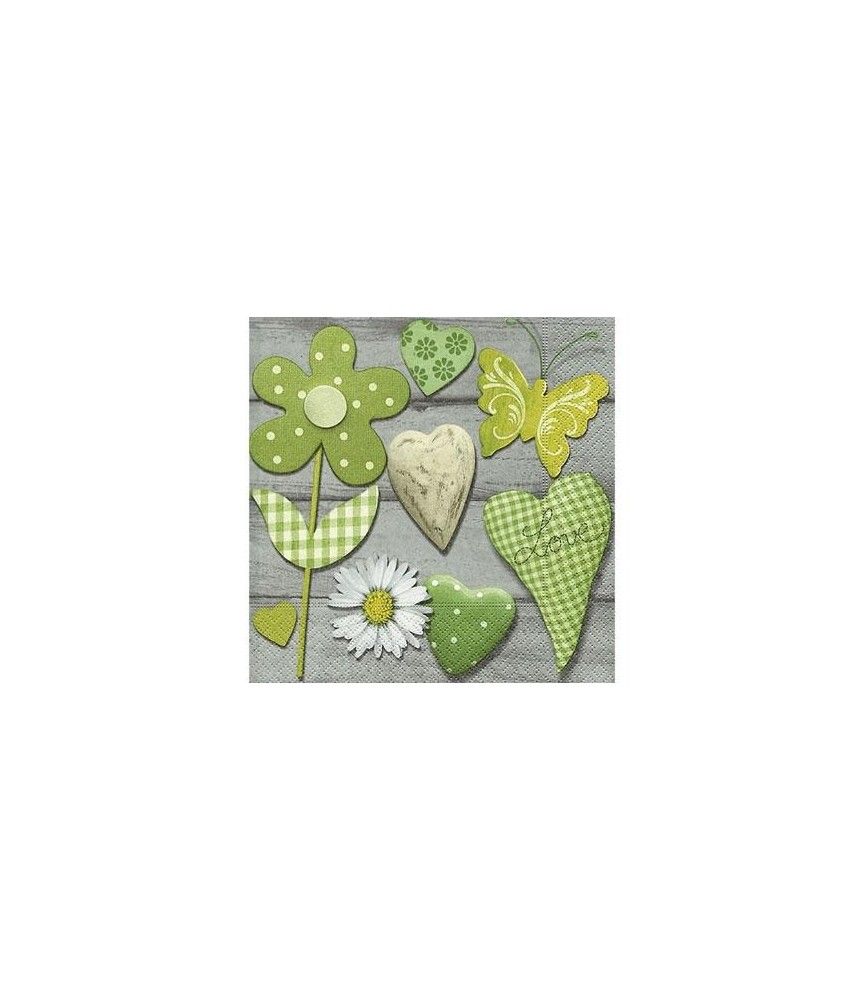 Servilleta Green selection 33x33 cm