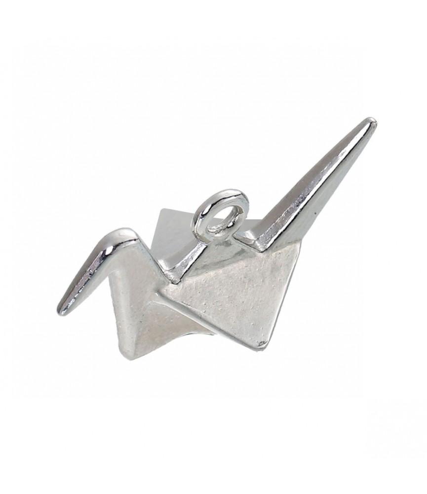 Charm pajarita de origami