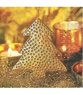 "Comprar Servilleta mod ""golden tree"" 33x33 cm de Conideade"