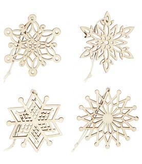 Comprar Pack 4 siluetas estrellas navidad de Conideade