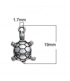 Charm tortuga en 3D