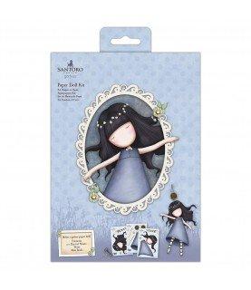 Comprar Set de muñeca de papel gorjuss azul de Conideade