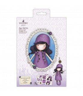 Comprar Set de muñeca de papel lila de Conideade