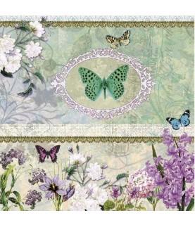 Imagén: Servilleta para decoupage mariposas