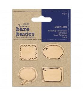 Pack 80 notas adhesivas en forma de bocadillo