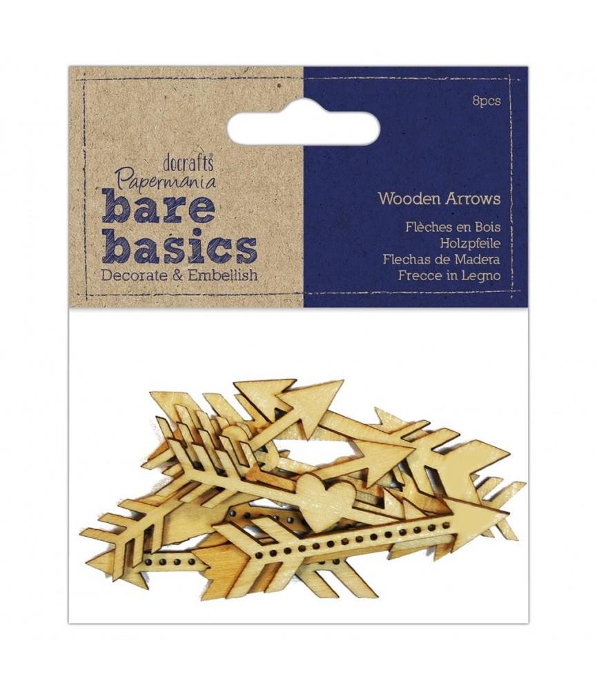 Pack de 8 flechas de madera