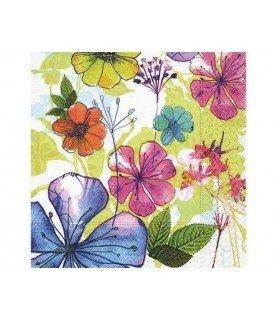 Comprar Servilleta para decorar flores multicolor de Conideade