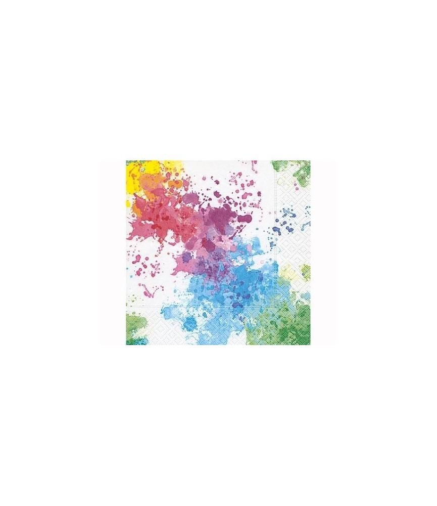 Servilleta para decorar explosion de color
