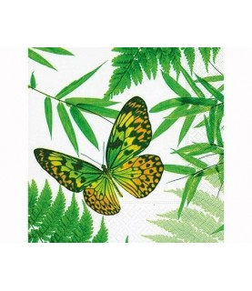 Comprar Servilleta para decorar mariposa tropical de Conideade
