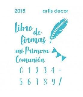 Comprar Plantilla stencil A5 cm motivos comunion