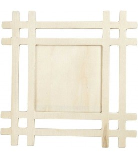Marco de madera de 17x17 cm